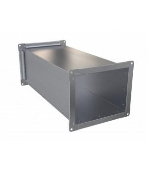 Воздуховод прямоугольный оцинкованной стали  400x400 1.25 м