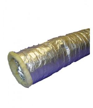 Воздуховод теплозвукоизолированный алюминиевый COHO A2 HARD 102 мм