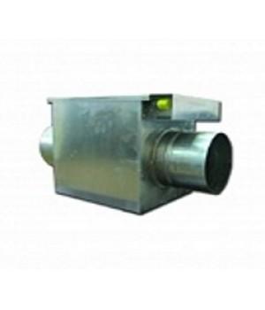 Водяной канальный нагреватель двухрядный для круглых воздуховодов BOK 160