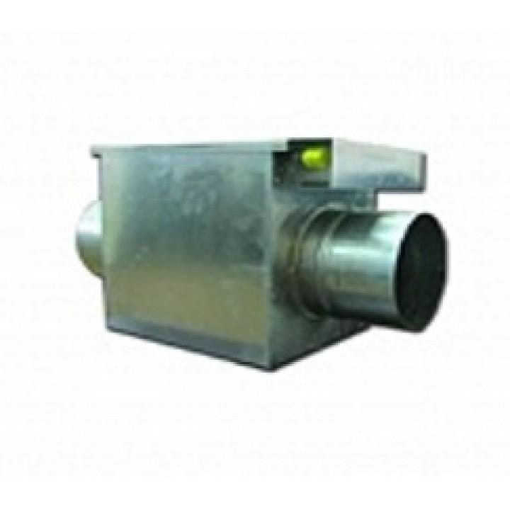 (Аirone) Водяной канальный нагреватель двухъядерный для круглых воздуховодов BOK 250