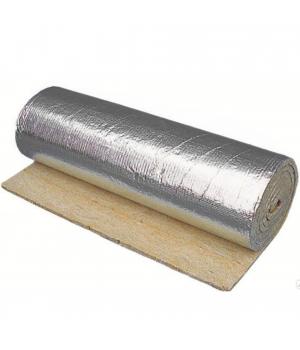 Огнезащитный материал для покрытия воздуховодов БИЗОЛ-МБОР 5Ф (20000x1200x5мм) 24 м²