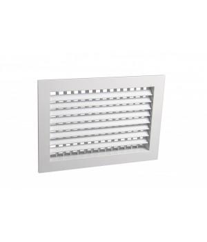 Вентиляционная алюминиевая решетка двухрядная Арктос АДН 1000x200