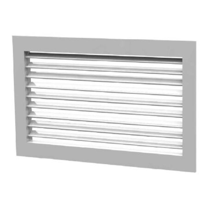 Вентиляционная алюминиевая решетка однорядная Арктос АМН 700x200
