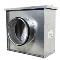 Воздушный фильтр для круглых воздуховодов Арктос ФЛК 500 М1