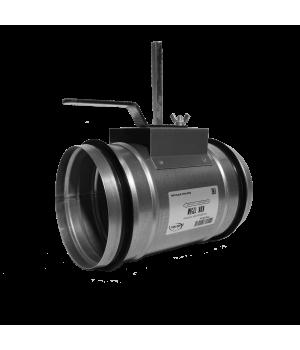 Дроссель клапан для круглых каналов Арктос КВК 125 M