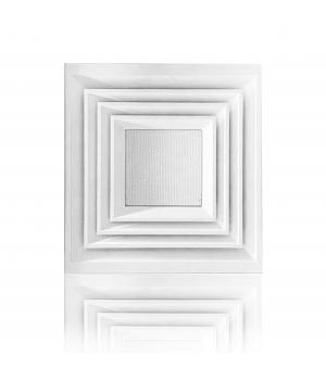 Диффузор потолочный алюминиевый с решеткой  АРКТОС  4АПН-П 600х600