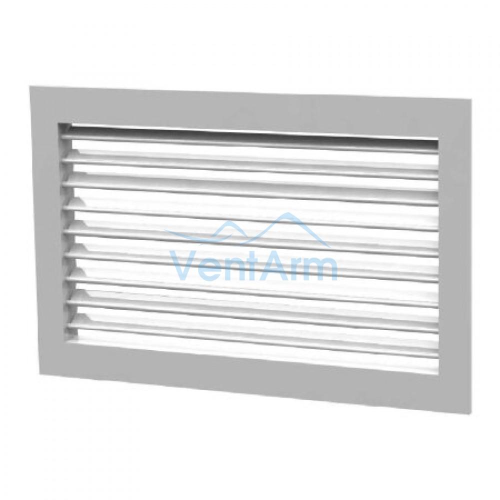 Вентиляционная алюминиевая решетка однорядная Арктос АМН 600x200