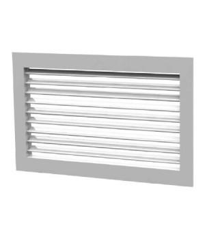 Вентиляционная алюминиевая решетка однорядная Арктос АМН 1000x200