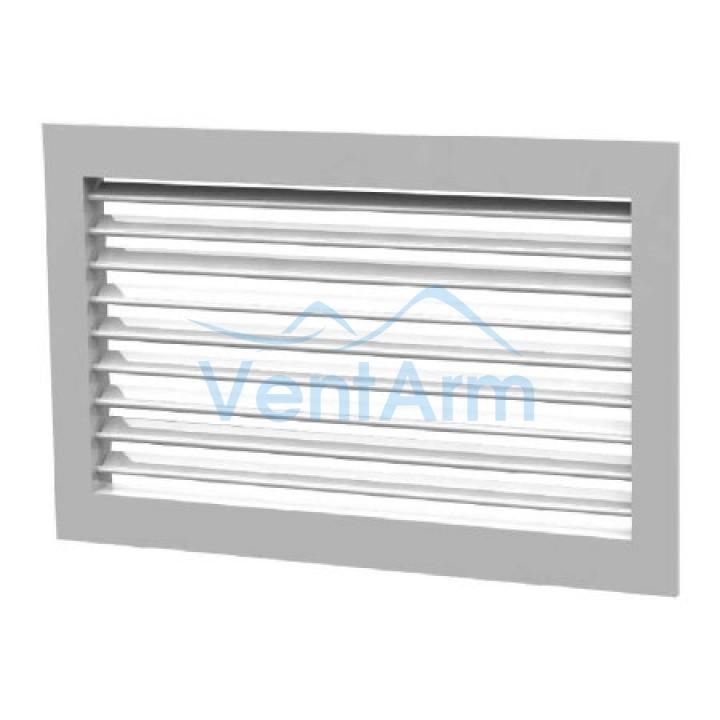 Вентиляционная алюминиевая решетка однорядная Арктос АМН 700x300