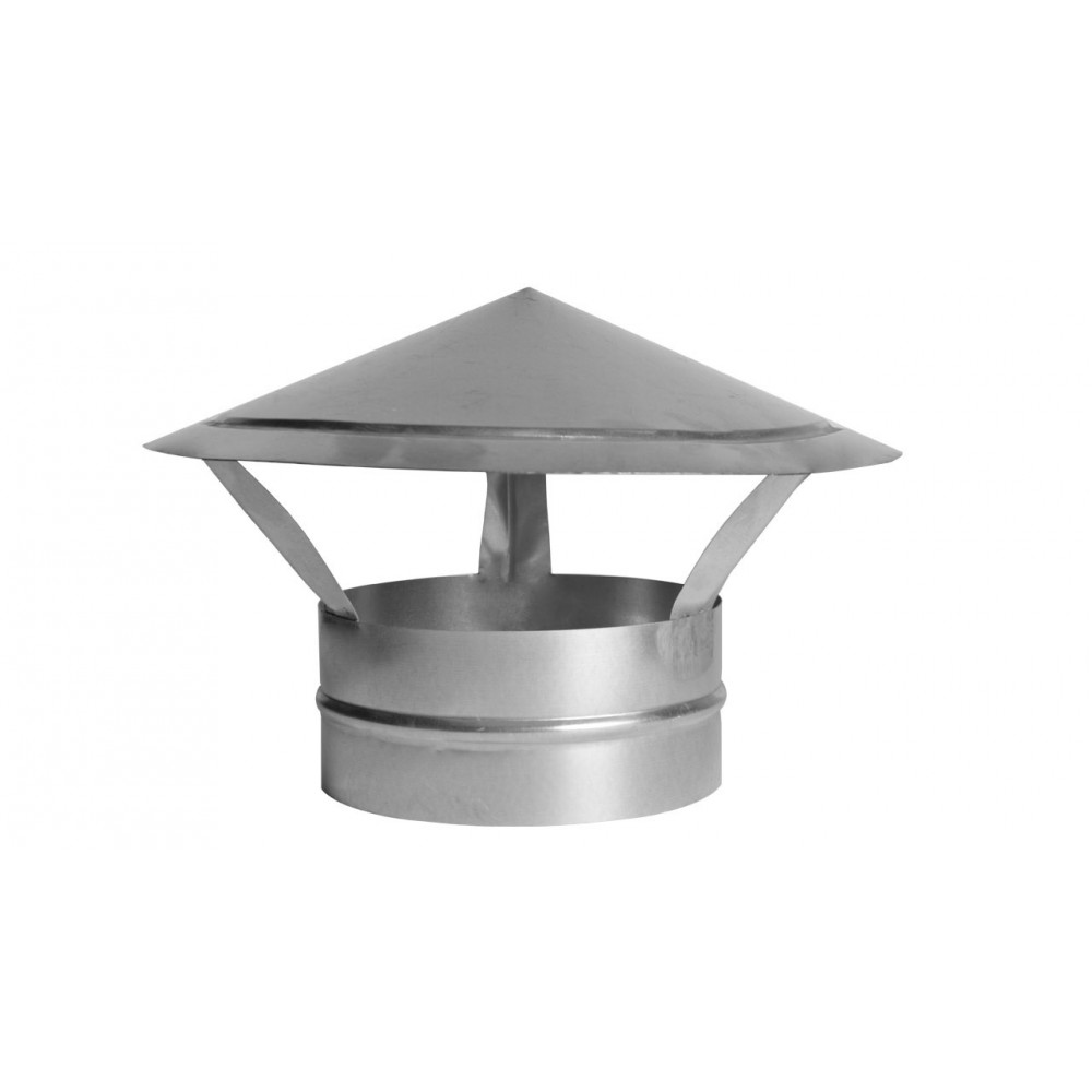 Зонт оцинкованный 125 мм