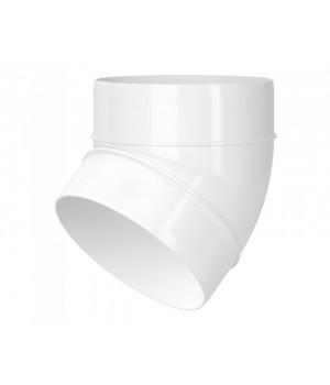 Колено 45° для круглых каналов Vents 121-45 100
