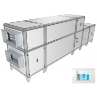 Приточно-вытяжная установка Breezart 10000 Aqua RP F PB  (без стоимости смесит. узла)