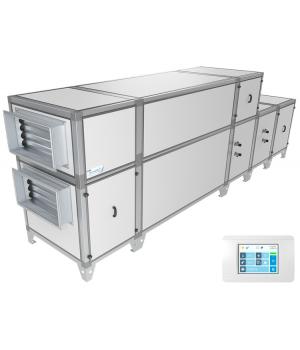 Приточно-вытяжная установка Breezart 10000 Aqua RP W PB (без стоимости смесит. узла)