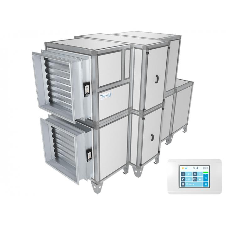 Приточно-вытяжная установка Breezart 10000 Aqua RR (без стоимости смесит. узла)
