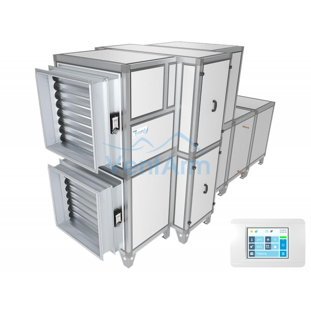 Приточно-вытяжная установка Breezart 10000 Aqua RR F (без стоимости смесит. узла)