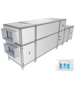 Приточно-вытяжная установка Breezart 16000 Aqua RP F PB  (без стоимости смесит. узла)