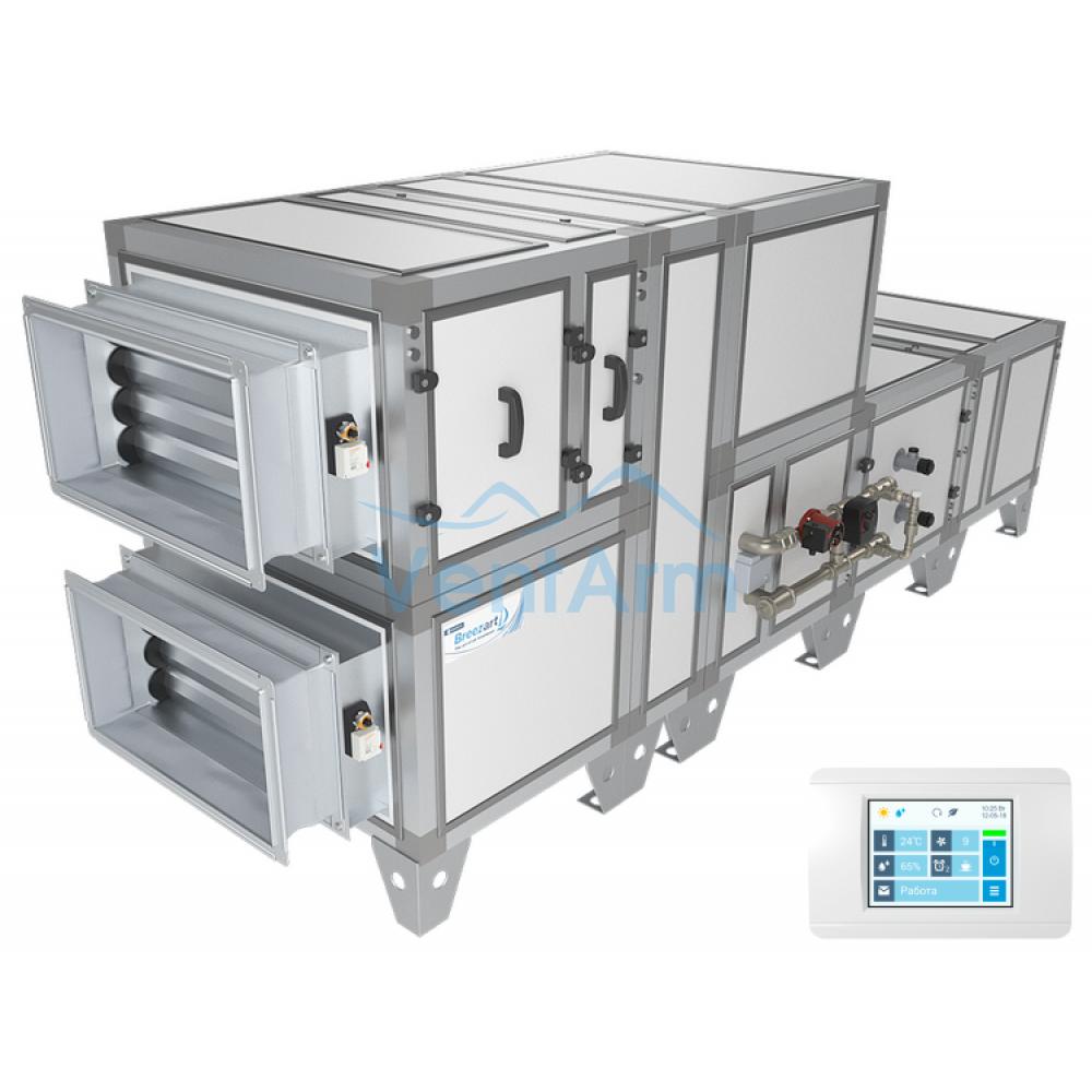 Приточно-вытяжная установка Breezart 2700 Aqua RR W
