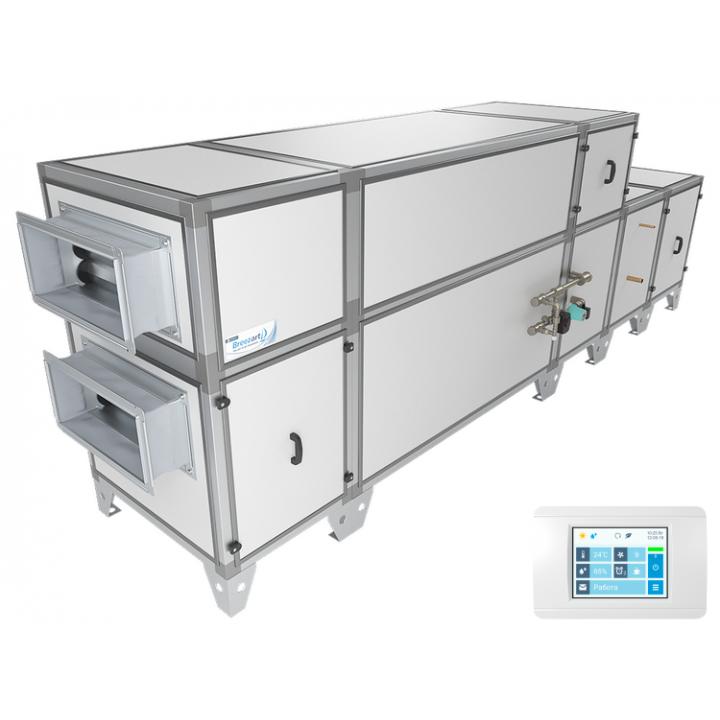 Приточно-вытяжная установка Breezart 4500 Aqua RP F PB