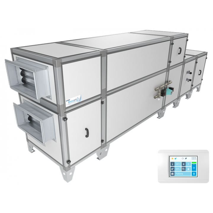 Приточно-вытяжная установка Breezart 4500 Aqua RP W PB