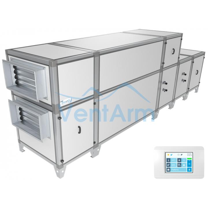 Приточно-вытяжная установка Breezart 8000 Aqua RP W PB
