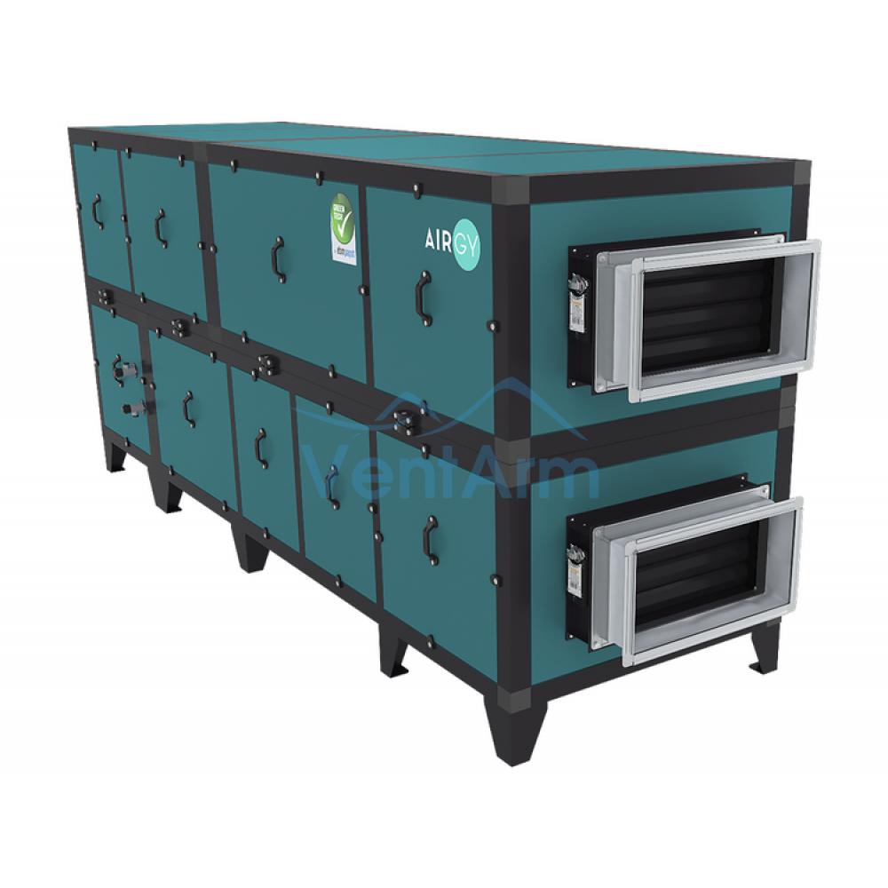 Приточно-вытяжная установка с рекуператором Airgy 2700 Eco RP