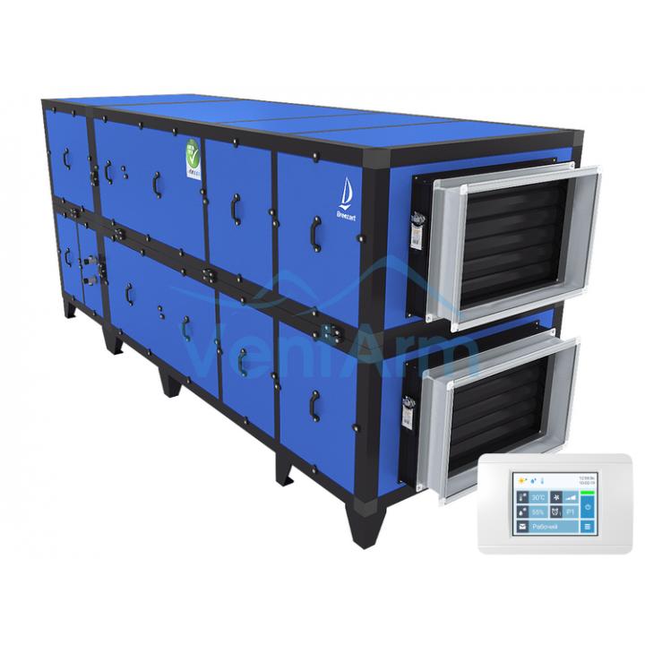 Приточно-вытяжная установка с рекуператором Breezart 4500 Aqua Pool RP