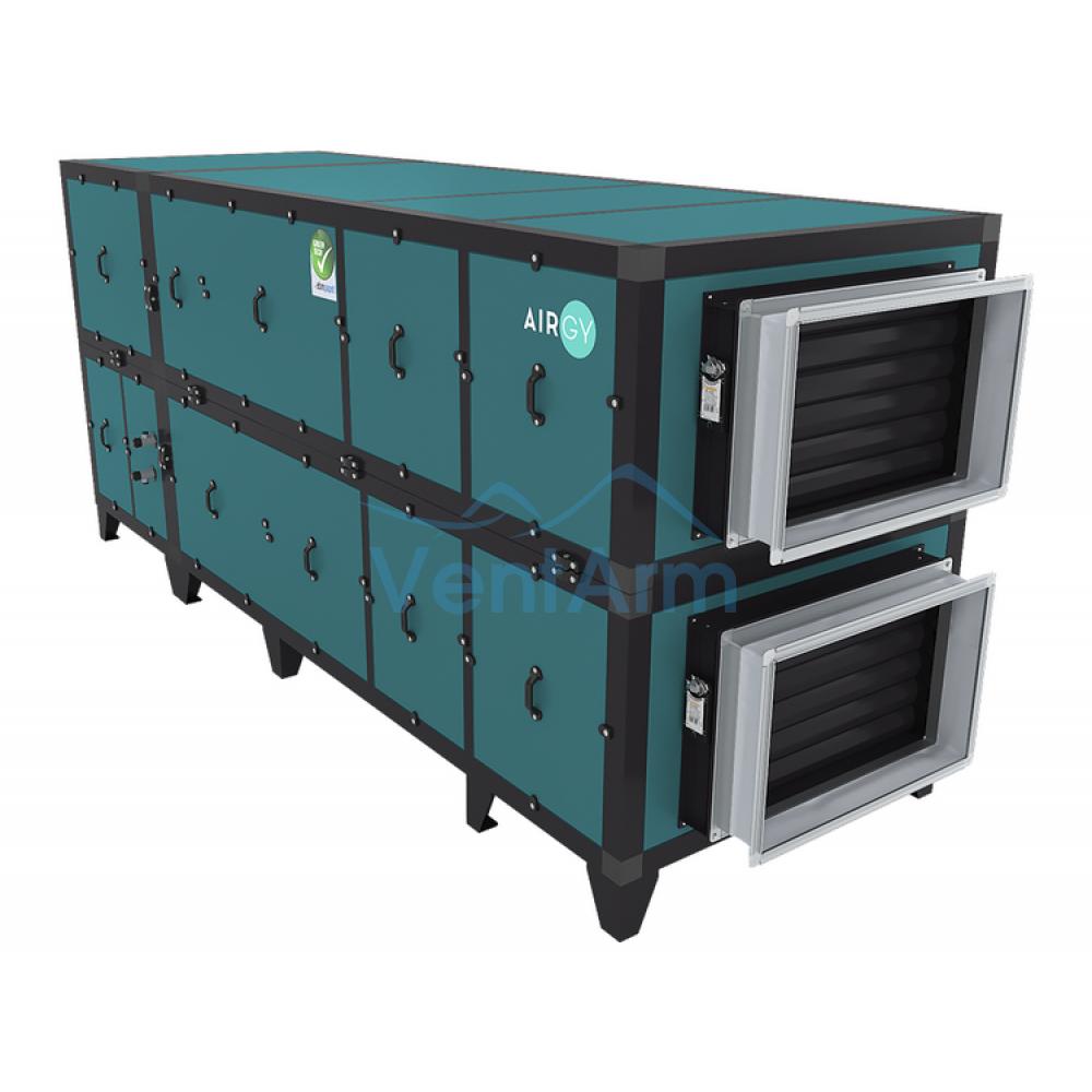 Приточно-вытяжная установка с рекуператором Airgy 6000 Eco RP