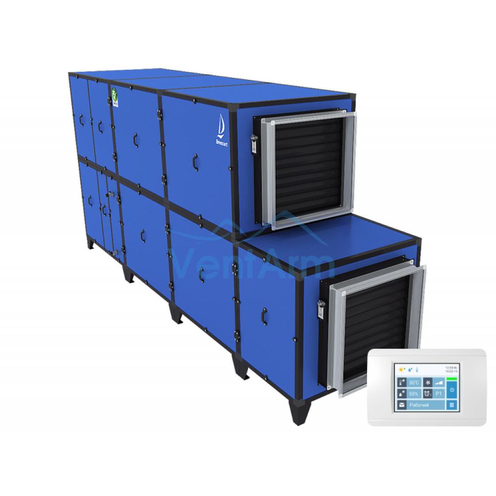 Приточно-вытяжная установка с тепловым насосом Breezart 8000 Aqua Pool DH