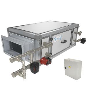 Секция увлажнителя с водяными нагревателями Breezart 2000 Humi Aqua P