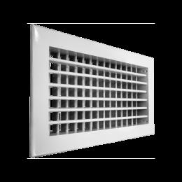 Алюминиевые двухрядные решетки