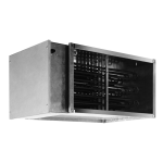 Электрические нагреватели для прямоугольных каналов