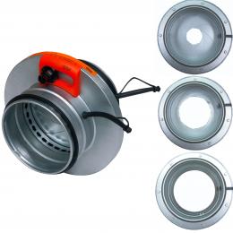 Ирисовые клапаны для круглых воздуховодов