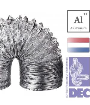 Воздуховод гибкий DEC Aludec DA3/A23 (102/10м)