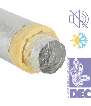 Гибкие воздуховоды теплозвукоизолированные DEC Sonodec DS/A23 102 (10м)