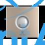 Вытяжной вентилятор Electrolux EAFR-120 beige 20 Вт