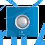 Вытяжной вентилятор Electrolux EAFR-100 blue 15 Вт