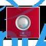 Вытяжной вентилятор Electrolux EAFR-120TH red 20 Вт