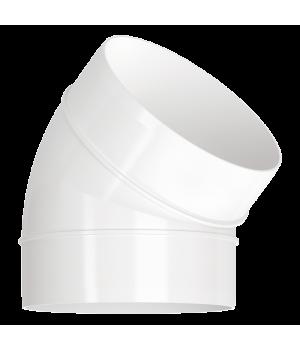 Колено 45° для круглых каналов Эра 16ККП45 160