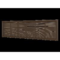 Решетка вентиляционная ERA 2307ДП кор. 227х67 Коричневый