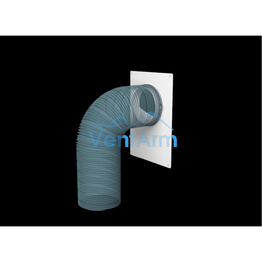 Площадка торцевая пластиковая Эра 125 ПТП 180х250/125