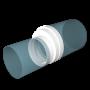 Редуктор эксцентриковый универсальный для круглых каналов  80x100x120x125x150x160