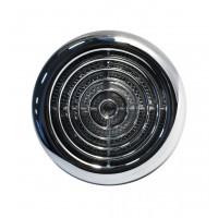 Вентилятор накладной ММ-120 Круглый. Хром с обратным клапаном