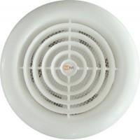 Вентилятор накладной ММ-120 Круглый. Белый с обратным клапаном