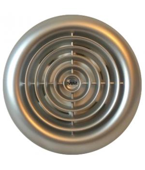 Вентилятор накладной ММ-100 Круглый. Серебристый с обратным клапаном