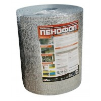 Утеплитель фольгированный самоклеящийся Пенофол С 10 10мм, 9м2