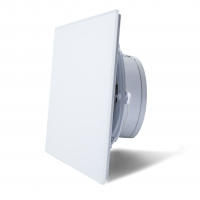 Вытяжной вентилятор сверхтонкий MMotors MM-P 90 Белый Матовый стекло 16 Вт
