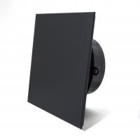 Вытяжной вентилятор сверхтонкий MMotors MM-P 90 Чёрный Матовый стекло 16 Вт