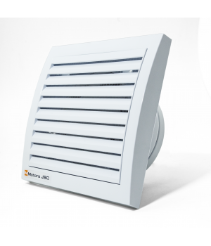 Вытяжной вентилятор MMotors MM 100 квадратный, белый 16 Вт