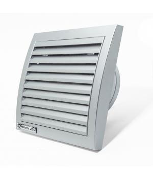 Вытяжной вентилятор MMotors MM 100 квадратный, серебро 16 Вт