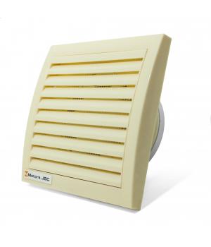 Вытяжной вентилятор MMotors MM 100 квадратный, кремовый 16 Вт